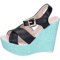 Pantofi Femei Sandale  Solo Soprani BN644 Negru