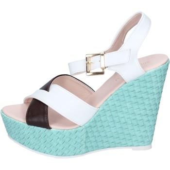 Pantofi Femei Sandale  Solo Soprani BN646 Alb