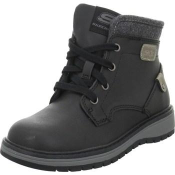 Pantofi Copii Ghete Skechers Stiefel City Trek Negre