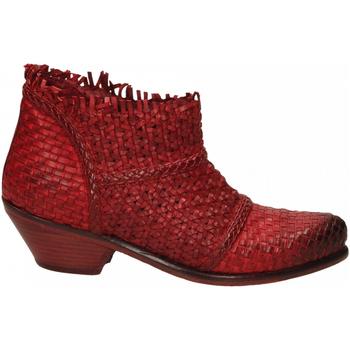 Pantofi Femei Botine J.p. David PAPUA INTRECCIATO rosso