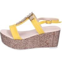 Pantofi Femei Sandale  Solo Soprani BN647 Galben