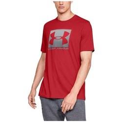 Îmbracaminte Bărbați Tricouri mânecă scurtă Under Armour Boxed Sportstyle Roșii