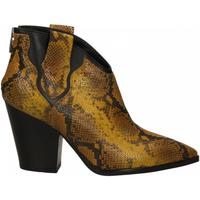 Pantofi Femei Botine Janet&Janet SATIRO giallo-nero