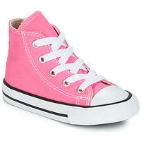 Pantofi Fete Pantofi sport stil gheata Converse CHUCK TAYLOR ALL STAR CORE HI Roz