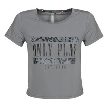 Îmbracaminte Femei Tricouri mânecă scurtă Only Play  Gri
