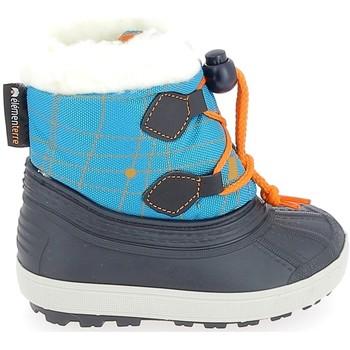 Pantofi Cizme de zapadă Elementerre Appleton BB Turquoise albastru