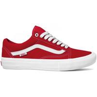 Pantofi Bărbați Pantofi de skate Vans Old skool pro roșu