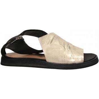 Pantofi Femei Sandale  Salvador Ribes METAL PARKER + MATRIX panna-nero