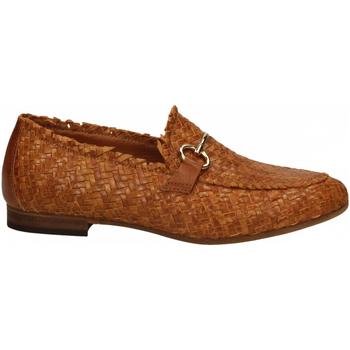 Pantofi Femei Mocasini Mat:20 LENNY INTRECCIO cuoio
