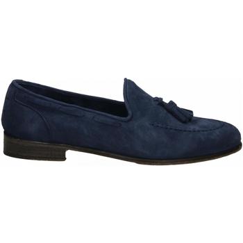 Pantofi Bărbați Mocasini J.p. David CAPRA SCAMOSCIATO azzurro