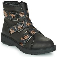 Pantofi Femei Ghete Guess WENDY Negru