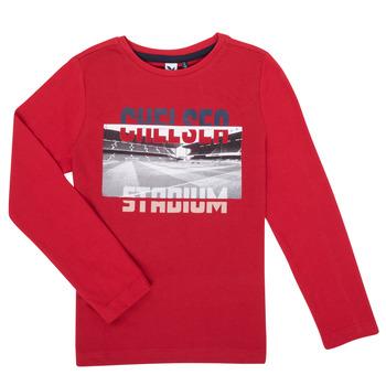 Îmbracaminte Băieți Tricouri cu mânecă lungă  3 Pommes 3R10015-37-C Roșu