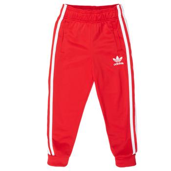 Îmbracaminte Copii Pantaloni de trening adidas Originals SST TRACKPANT Roșu