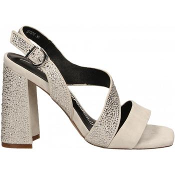 Pantofi Femei Sandale  Luciano Barachini CAMOSCIO ghiaccio