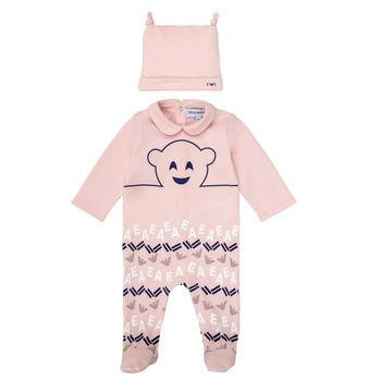 Îmbracaminte Fete Pijamale și Cămăsi de noapte Emporio Armani 6HHV08-4J3IZ-0355 Roz