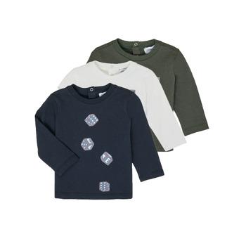 Îmbracaminte Băieți Tricouri cu mânecă lungă  Emporio Armani 6HHD21-4J09Z-0564 Multicolor