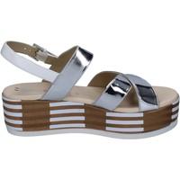 Pantofi Femei Sandale  Tredy's sandali pelle sintetica Argento