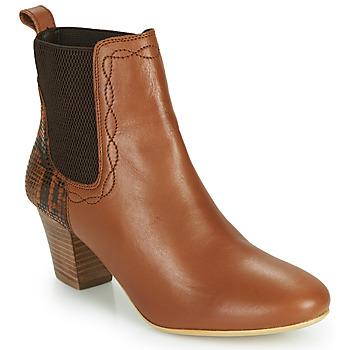 Pantofi Femei Botine Ravel MOA Camel