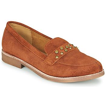 Pantofi Femei Mocasini Karston ACALI Ocru
