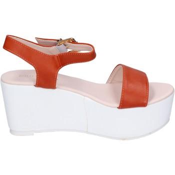 Pantofi Femei Sandale  Solo Soprani BN770 Portocale