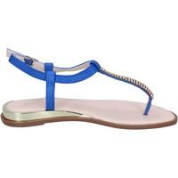 Pantofi Femei Sandale  Solo Soprani BN778 Albastru