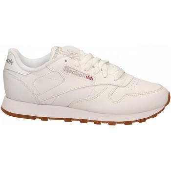 Pantofi Femei Fitness și Training Reebok Sport CL LTHR white-gum