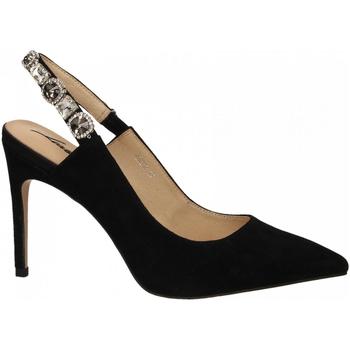 Pantofi Femei Pantofi cu toc Luciano Barachini CAMOSCIO nero