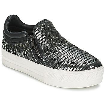 Pantofi Femei Pantofi Slip on Ash JORDY Gri /  metalic