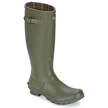 Pantofi Bărbați Cizme de cauciuc Barbour BEDE Olive