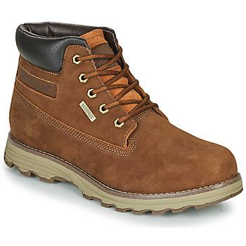 Pantofi Bărbați Ghete Caterpillar FOUNDER WP TX Maro
