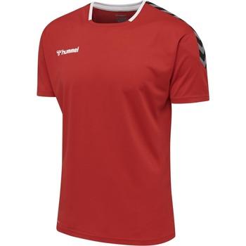 Îmbracaminte Tricouri mânecă scurtă Hummel Maillot  hmlAUTHENTIC Poly HML rouge