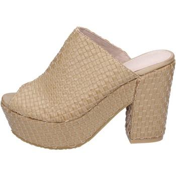 Pantofi Femei Sandale  Sara Lopez sandali pelle sintetica Beige