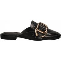 Pantofi Femei Saboti What For SELENA-15 black