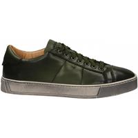Pantofi Bărbați Pantofi Derby Santoni DERBY 7 OCC. GOOSE verde