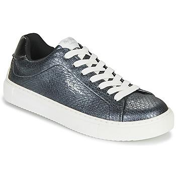 Pantofi Femei Pantofi sport Casual Pepe jeans ADAM SNAKE Gri