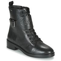 Pantofi Femei Ghete Pepe jeans MALDON LOGO Negru
