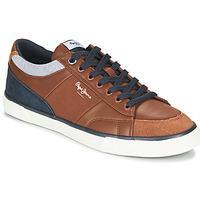 Pantofi Bărbați Pantofi sport Casual Pepe jeans KENTON SPORT Maro