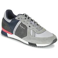 Pantofi Bărbați Pantofi sport Casual Pepe jeans TINKER ZERO SECOND Gri / Bordo
