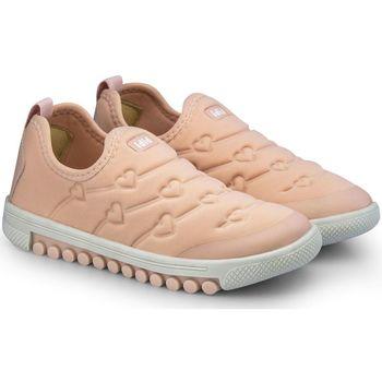 Pantofi Fete Pantofi Slip on Bibi Shoes Pantofi Sport Fete Bibi Roller New Camelia Roz