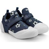 Pantofi Băieți Papuci de casă Bibi Shoes Pantofi Baieti Bibi 2WAY Football Bleumarin