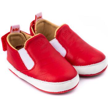Pantofi Băieți Pantofi Slip on Bibi Shoes Pantofi Baietei Bibi Afeto V Rosii/Albi Rosu