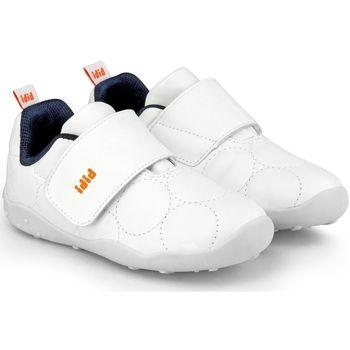Pantofi Fete Pantofi sport Casual Bibi Shoes Pantofi Baieti Bibi Fisioflex 4.0 Albi Cu Clapeta Alb