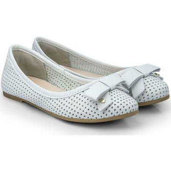 Pantofi Fete Balerin și Balerini cu curea Bibi Shoes Balerini Fete Bibi Renascence Kids Ice Perforati Bleu