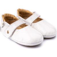 Pantofi Fete Balerin și Balerini cu curea Bibi Shoes Balerini Fetite Bibi Afeto V Albi Lacuiti Alb
