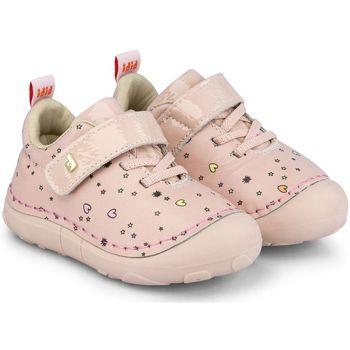 Pantofi Fete Pantofi sport Casual Bibi Shoes Pantofi Fete Bibi Grow II Happy Place Camelia Roz