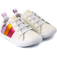 Pantofi Fete Pantofi sport Casual Bibi Shoes Pantofi Fete Bibi Agility Mini Albi Color Alb
