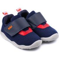 Pantofi Băieți Pantofi sport Casual Bibi Shoes Pantofi Baieti Bibi FisioFlex 4.0 Naval Textil Cu Clapeta Bleumarin