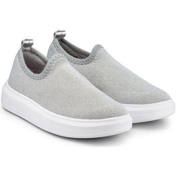 Pantofi Fete Pantofi Slip on Bibi Shoes Pantofi Fete Bibi Glam Silver Argintiu