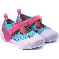 Pantofi Fete Tenis Bibi Shoes Pantofi Fete Bibi 2WAY Happy Place Pool Bleu