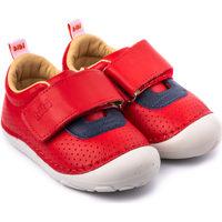 Pantofi Copii Botoșei bebelusi Bibi Shoes Pantofi Unisex Bibi Grow II Rosii Rosu